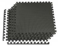 Мат-пазл Hop-Sport HS-A010PM EVA 1 см 4 частин Чорний