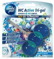 Гелева підвіска для туалету Ambi Pur WC Active Tri-gel Водяна лілія 45 г (825050)