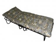 Раскладушка ТАДИМебель с подголовником 193х80х45 см
