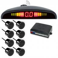 Парктроник Parking Sensor 8 датчиків (1007522-Black-1)