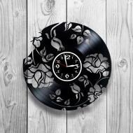 Часы настенные Лофт-ретро 0176 из виниловой пластинки