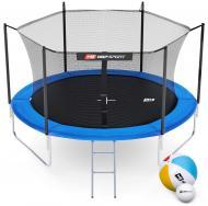 Батут Hop-Sport 10ft (305 см) с внутренней сеткой Синий