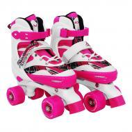 Роликовые коньки SportVida SV-LG0055 Size 35-38 White/Pink