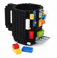 """Чашка-конструктор SUNROZ в стиле """"Lego"""" Черный SUN3780_1"""