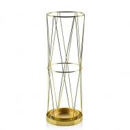 Подставка для зонта металлическая Flora 45 см Золотой (30250)