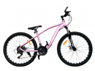 """Велосипед TopRider 550 26"""" 38 см Розовый"""