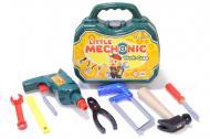 Дитячий ігровий набір Технок Маленький механік 27х22,5х8,5 см Темно-зелений (386)