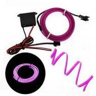 Підсвічування для салону автомобіля CAR Cold Light Line EL-1302-5 Фіолетовий