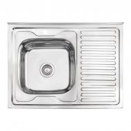Мийка для кухні Lidz LIDZ6080LPOL06 800x600 мм (75137)