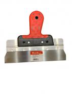 Шпатель алюмінієвий WoffMann гумова ручка 250/60 мм (і2021)
