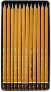 Олівець Koh-i-Noor Олівці графітні 1500 Technic НВ-10Н 12  шт. (1502.I)