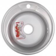 Мойка кухонная ZERIX Z490-06-170P polis (ZS0555)