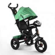 Велосипед трехколесный детский Best Trike 3390-59-833 с пультом Зеленый/черный