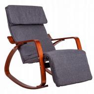 Кресло-качалка GoodHome 02 Walnut 120 кг
