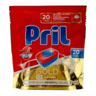 Таблетки для посудомийної машини Pril Gold 20 шт.