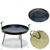 Сковорода с крышкой SHOP PAN 60 см из диска бороны