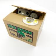 Копилка-сейф UKC 8805 Воришка монет в коробке (3014472ER)