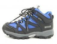 Демисезонные ботинки Regatta р.28 17,5 см Серый с голубым (Regatta Gatlin Mid JNR bl_28)