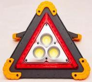 Знак аварійний світлодіодний акумуляторний прожектор JX-7709