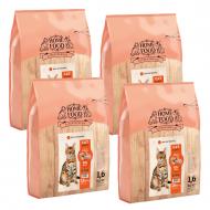 Набір HOME FOOD для дорослих активних котів 4 уп. по 1,6 кг