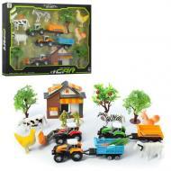 Дитячий ігровий набір Ферма з технікою і тваринами H402