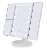 Дзеркало для макіяжу UKC Superstar Magnifying Mirror з LED підсвічуванням