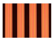 Ткань маркизная Dickson для уличных штор акриловая непромокаемая ширина 120 см Оранжевый/Коричневый (0934)