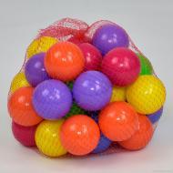 Кульки для сухого басейну Orion 32 шт. 70 мм в сітці Різнокольоровий