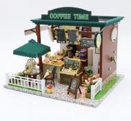 3D Румбокс CuteBee Coffee Time DIY DollHouse Кафе (V356SD)