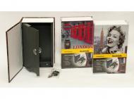 Книга-сейф на ключе Home Safe London 240х155х65 мм