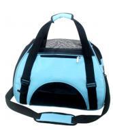 Сумка переноска для собак і кішок 44х22х27 Блакитний (36677)