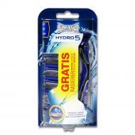 Станок для гоління Wilkinson Sword Hydro 5 Gratis 5 касет в комплекті