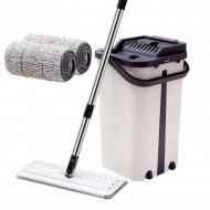 Швабра з відром з автовіджимом Scratch Cleaning Mop Original Фіолетовий
