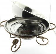 Садж для шашлыка с подогревом с крышкой SIOMA блюдо 36 см (1063458)