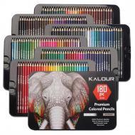 Набір кольорових олівців 180 кольорів найбільший Art Planet