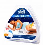 Подушка ортопедическая для ног Contour Leg Pillow 25х23х14,5 см Белый (TV000113)
