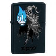 Запальничка Zippo Ghostly Flame Чорний (28033)
