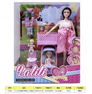 Кукла беременная Yalili fashion and love