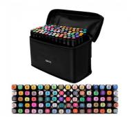 Набор скетч-маркеров Touch Raven с сумкой 120 цветов