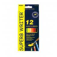 Набір кольорових олівців Superb Writer Marco 12 кольорів (MAR-4120-12CB)