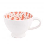 Чашка фарфоровая Flora Розовый фламинго 0,3 л 31883