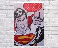 Постер плакат BEGEMOT Стрит-Арт Супергерои DC Супермен Superman 61x90 см (1121331-1)