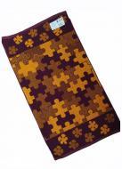Полотенце махровое Речицкий текстиль 67x150 см Пазлы