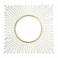 Зеркало металлическое настенное Flora Alexia 47 см (30329)
