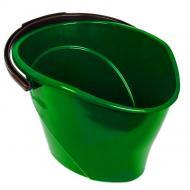 Ведро овальное с носиком Консенсус 12 л Зеленый (MCS-11829)