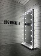 Зеркало двухстороннее с подсветкой Markson Sank M609
