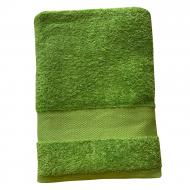 Полотенце махровое Aisha Home Textile Загадка 70x140 см Оливковый