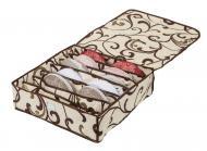 Органайзер для білизни  з кришкою 7 комірок Бежевий