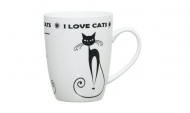 Чашка I love Cats 320 мл (0520-0411B)