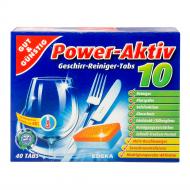 Таблетки для посудомийної машини EDEKA Power-Aktiv 40 шт.